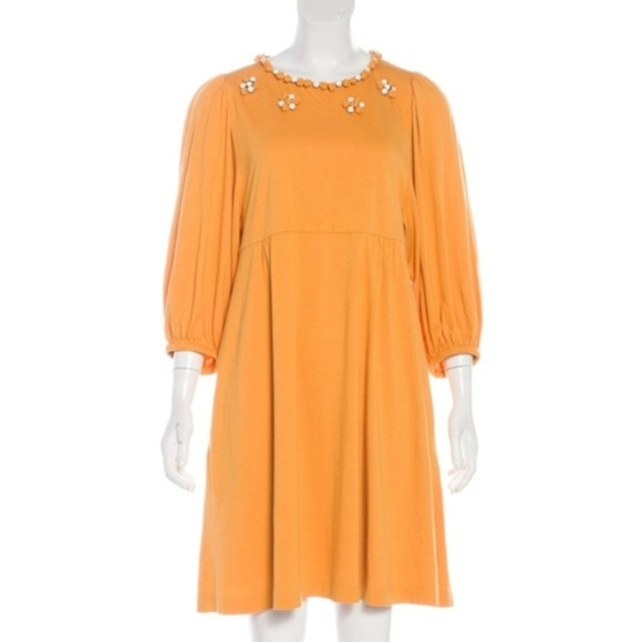 See By Chloe Dresses & Skirts - See by Chloe Marigold Yellow Embellished Dress 4
